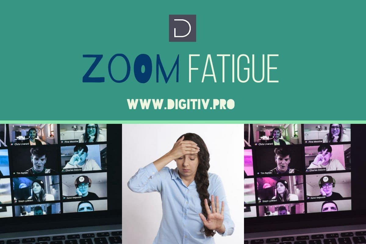 Zoom Fatigue is Real.