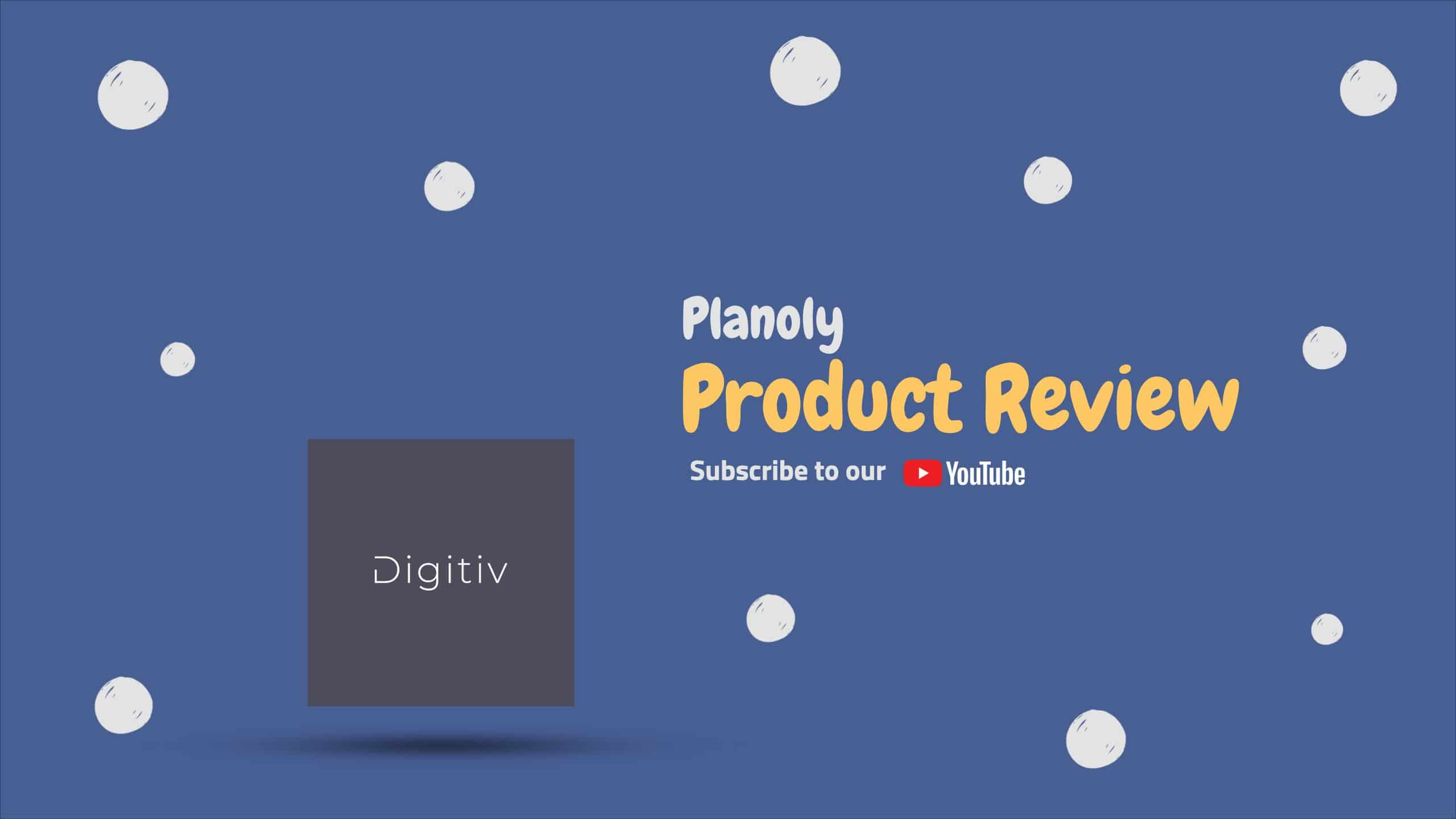 Planoly Product Review